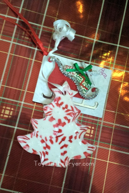 peppermint ornament
