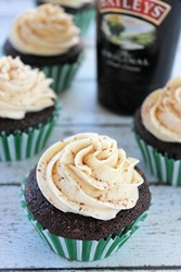 Guinness Bailey's Cupcakes