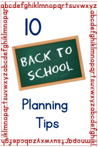 10 back to school planning tips