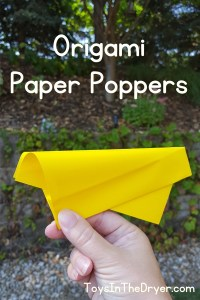 origami paper poppers