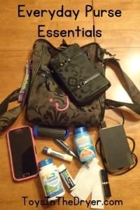 every day purse essentials