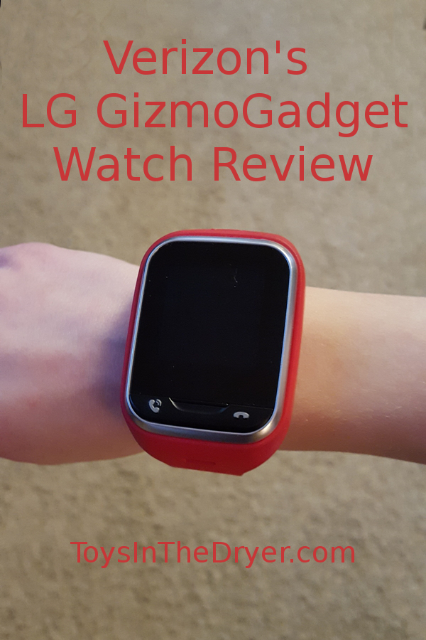 LG GizmoGadget Watch Review - Toys In The Dryer