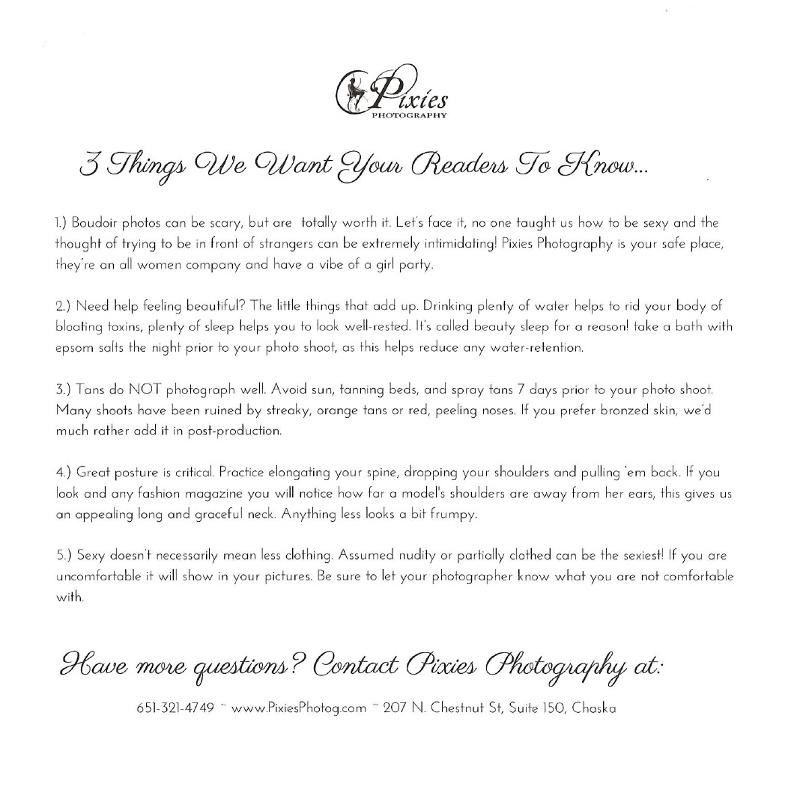 Pixies Boudoir Photography