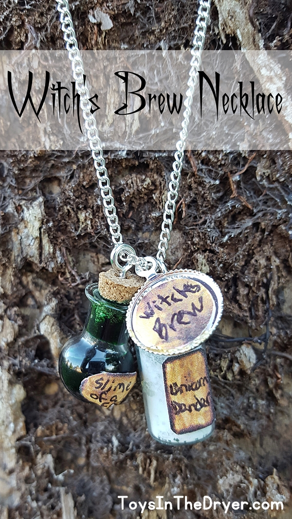 Halloween Witch's Brew Necklace