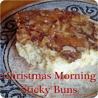 Christmas morning sticky buns
