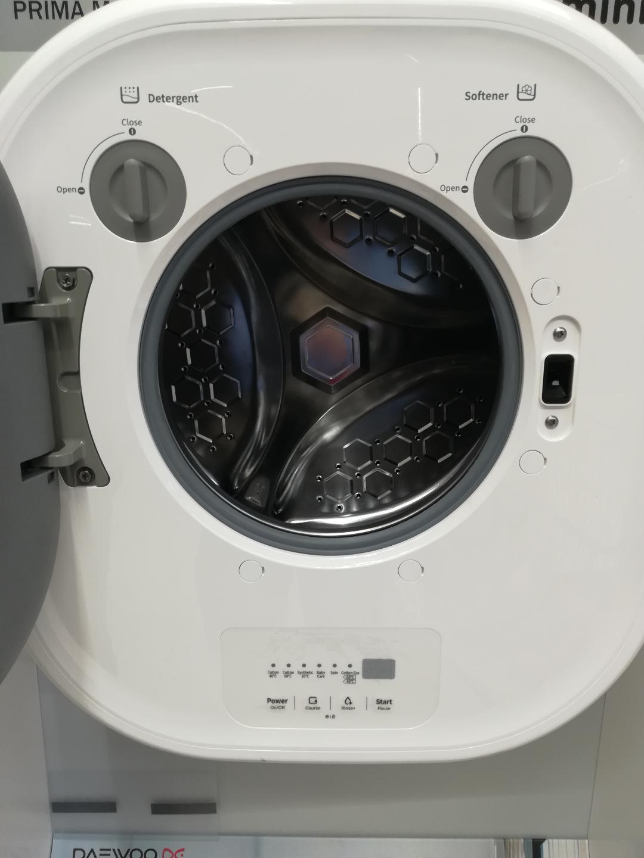 Interior masina de spalat rufe mini