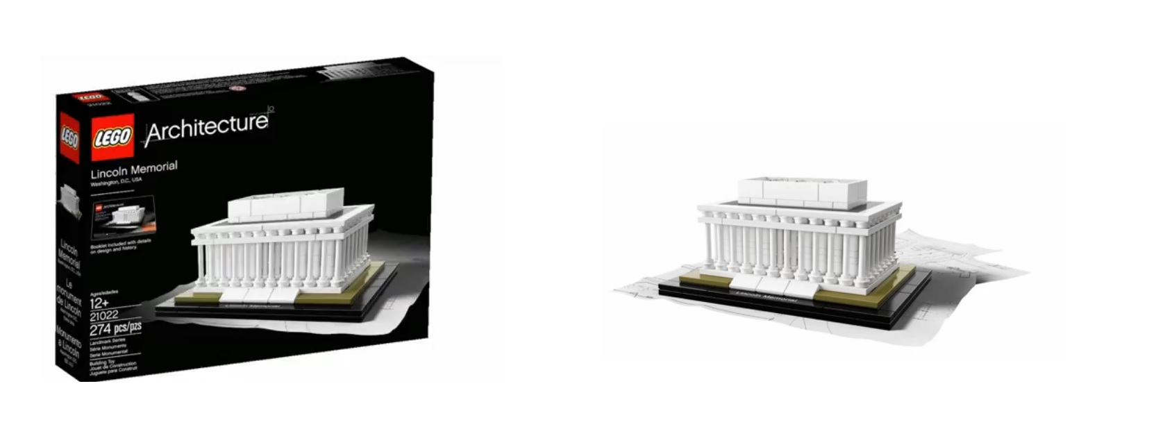 hight resolution of 2015 lego architecture 21022 lincoln memorial washington dc