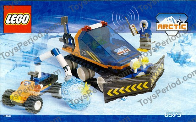 Lego 6573 Arctic Expedition Set Parts Inventory And