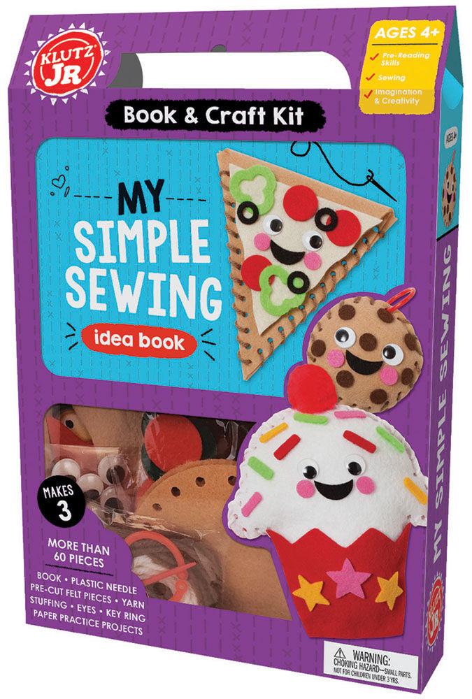 Www.toysrus.com/sewing Crafts : www.toysrus.com/sewing, crafts, Klutz, Junior, Simple, Sewing, English, Edition, Canada