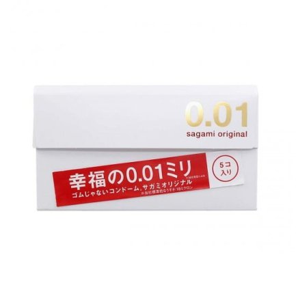 Sagami ORIGINAL 相模原創 0.01 – 5片裝