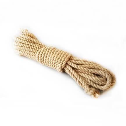 捆綁專用黃麻繩 6mm – 原色 9.5米