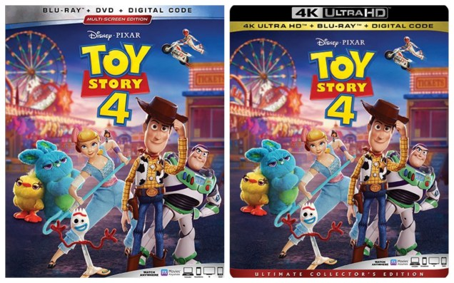 Toy Story 4 On Digital And Blu Ray In October