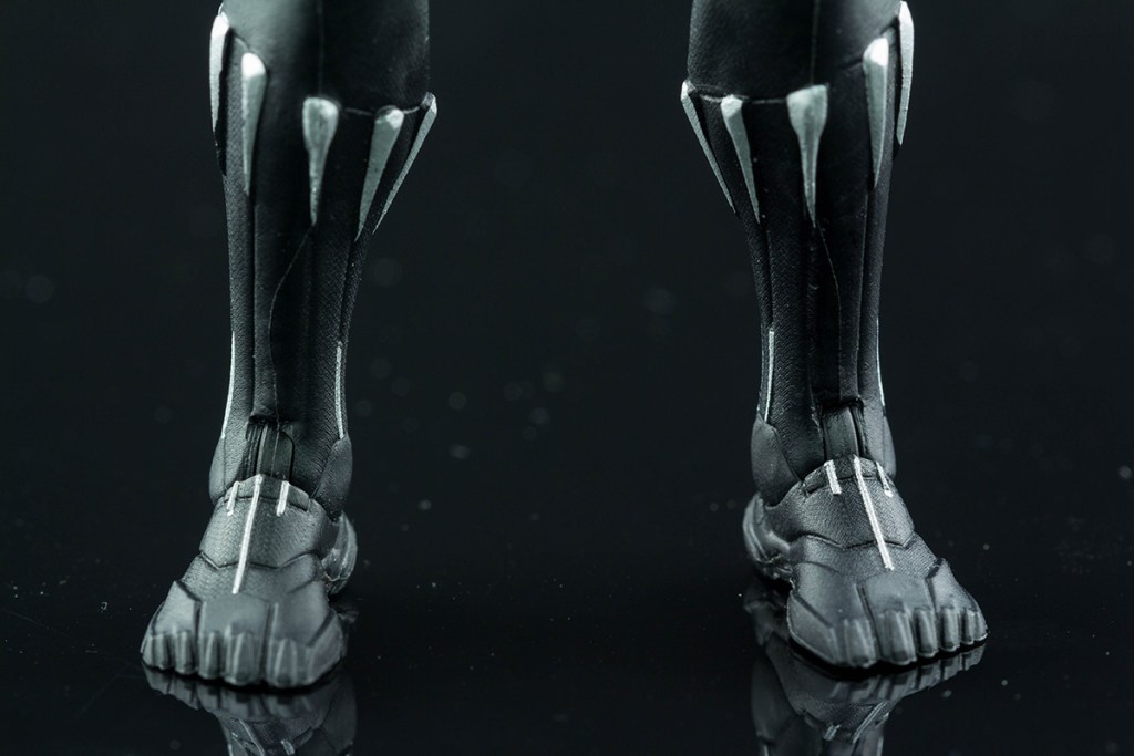 Black Panther feet front