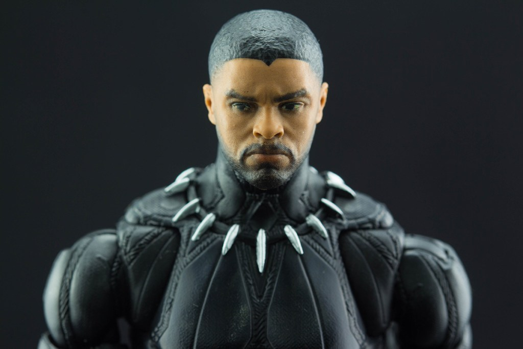 Black Panther Chadwick Boseman head sculpt