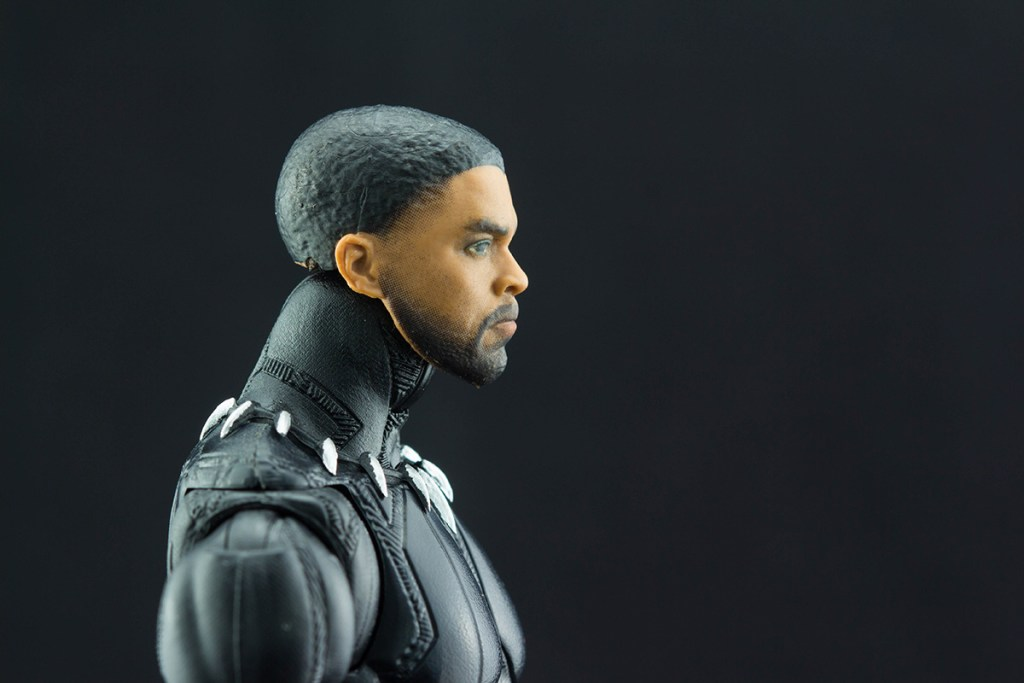 Black Panther Chadwick Boseman head profile