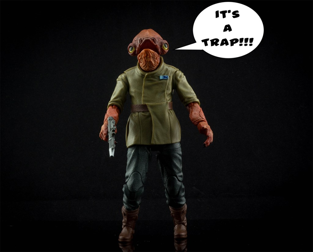 Star Wars Black Series Admiral Ackbar 2 Pack