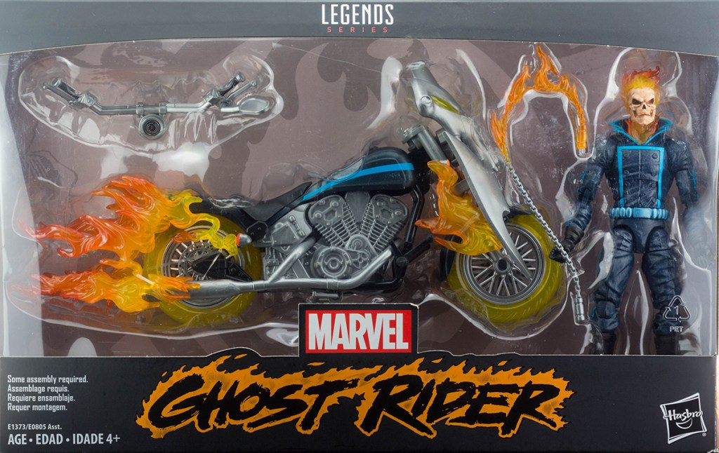 Marvel Legends Ghost Rider and Motorcycle