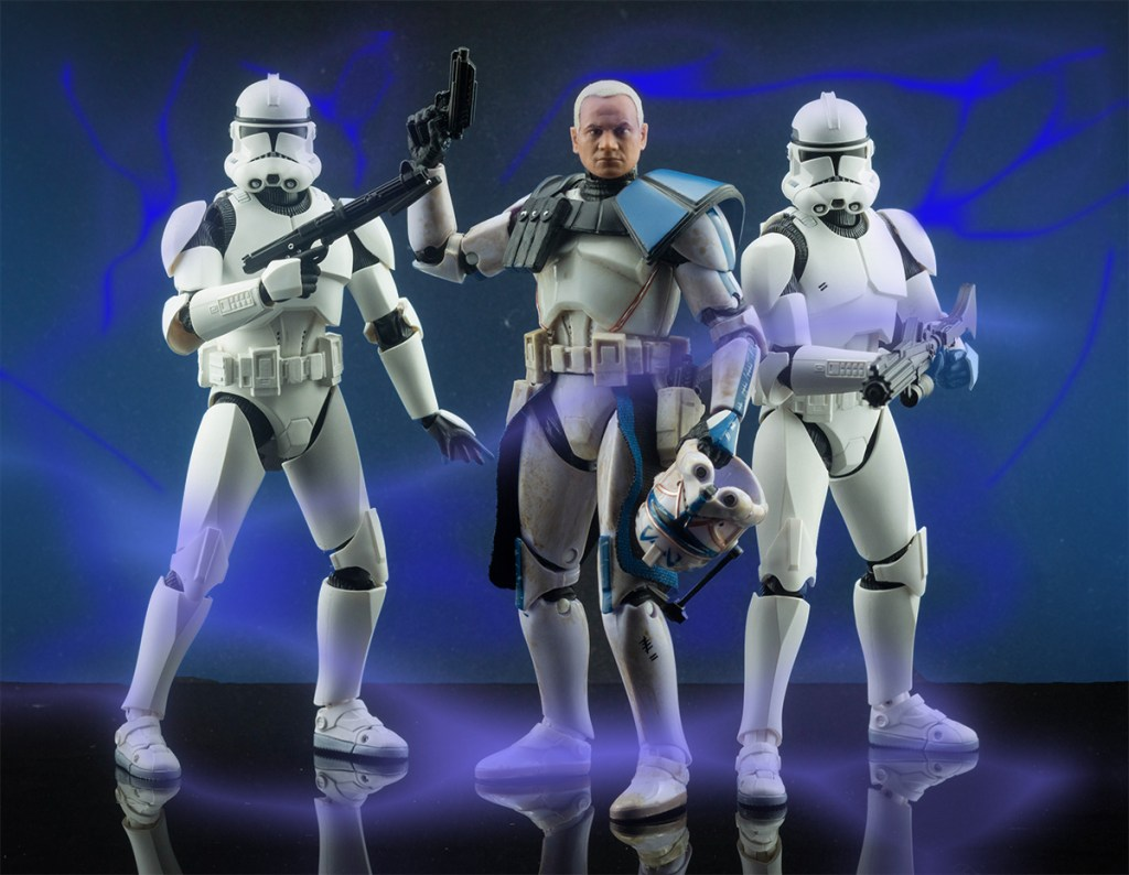 Figuarts Clone Trooper Phase II Vs Clone Captain Rex