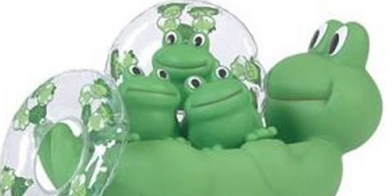 Floating Frogs Bath Toys