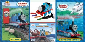 Thomas & Friends Coloring Books