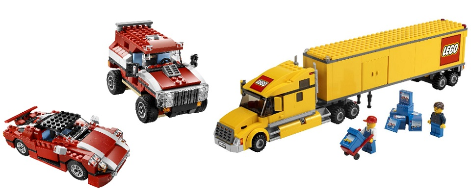 Lego Automobiles Cars and Trucks  Toy Time Treasures
