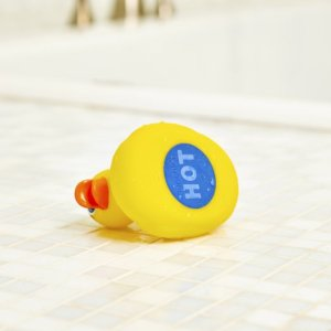 Temperature Tester on Rubber Duck
