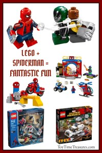 Spiderman Lego Building Sets - Toy Time Treasures