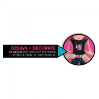 Barbie Photo Fashion Doll - How to Decorate Photos