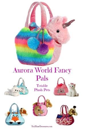 Plush Animals in a Purse