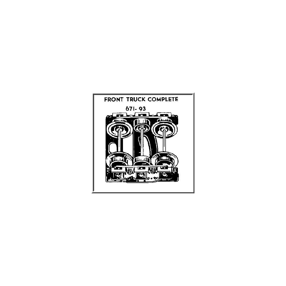 hight resolution of 671 lionel train wiring diagram