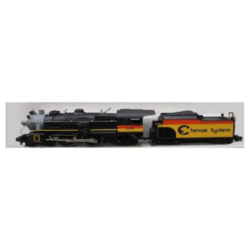 small resolution of lionel 85106 4 4 2 chessie system atlantic steam locomotive and tender