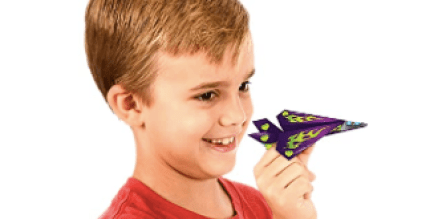 boy with valentine card airplane, valentine's day gift for kids, toys for valentines not candy