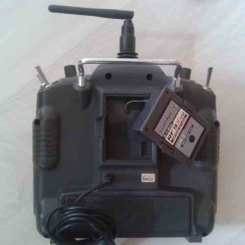 Controle Turnigy 9 Canais ( TX Turnigy 9 Ch)