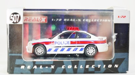 REAL-X COLLECTION 1-72 UK POLICE CAR 507 - BMW Patrol Car - 07