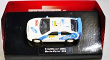 WIDEA 1-87 DIE CAST COLLECTIBLE CAR - Ford Escort WRC - Monte Carlo 1998 - No. 7 - 01