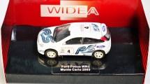 WIDEA 1-87 DIE CAST COLLECTIBLE CAR - Ford Escort WRC - Monte Carlo 2003 - No. 4 - 01