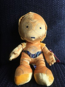 Disney STAR WARS c-3PO 10 inch Plush Toy 1