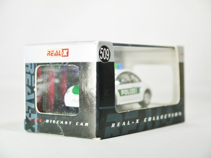 REAL-X COLLECTION 1-72 GERMANY POLIZEI CAR 512 - VW Beetle Patrol Car - 12