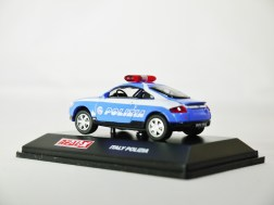 REAL-X COLLECTION 1-72 ITALY POLIZIA CAR 517 - AUDI TT Patrol Car - 07