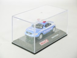 REAL-X COLLECTION 1-72 ITALY POLIZIA CAR 517 - AUDI TT Patrol Car - 09