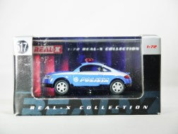 REAL-X COLLECTION 1-72 ITALY POLIZIA CAR 517 - AUDI TT Patrol Car - 11