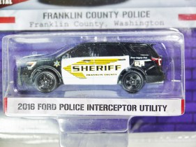 GREENLIGHT 1-64 HOT PURSUIT SERVE & PROTECT FRANKLIN COUNTRY POLICE 02