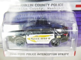 GREENLIGHT 1-64 HOT PURSUIT SERVE & PROTECT FRANKLIN COUNTRY POLICE 04