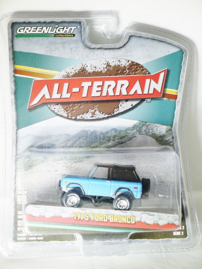 GREENLIGHT COL - ALL-TERRAIN S2 - 1975 FORD BRONCO - 01