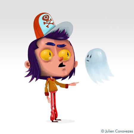 illustrateur fantome