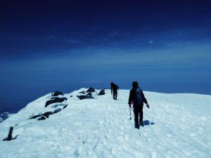 登山,シーズン,冬