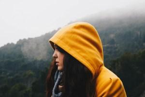 冬,秋,登山,ミドルレイヤー
