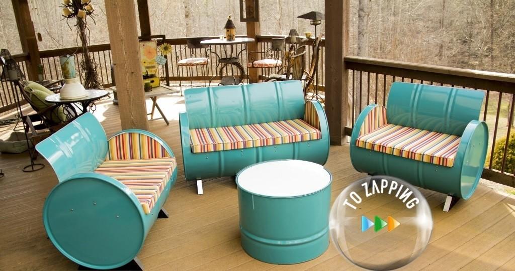 Muebles hechos con reciclaje  Tozappingcom