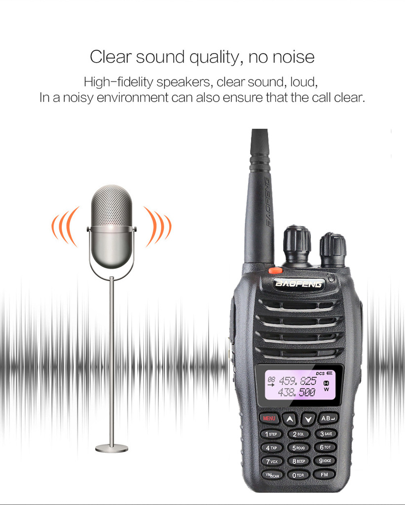 BAOFENG UV-B5 Two Way Ham FM Radio Interphone Dual Band