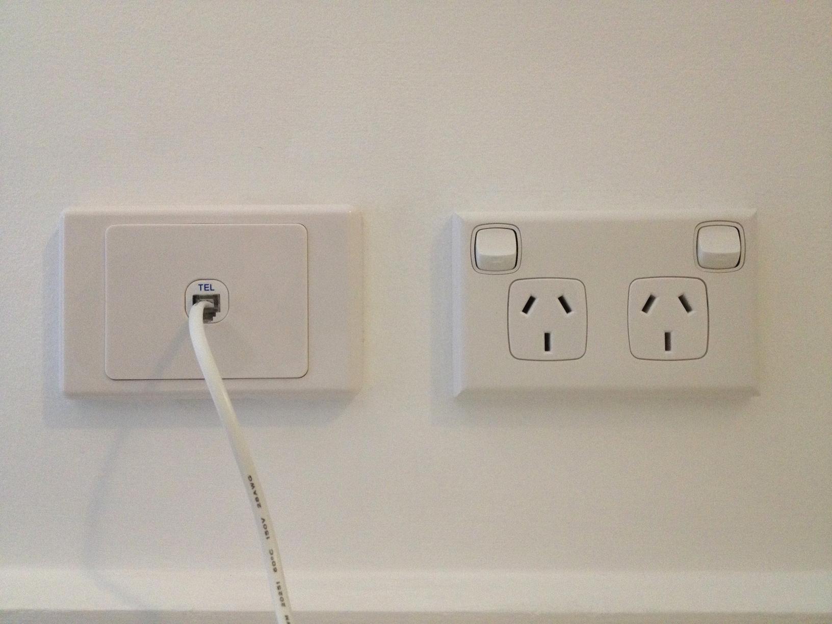 upgrading a 600 series phone socket to rj11 tp69 socket outlet google on australian telephone wall socket wiring [ 1632 x 1224 Pixel ]